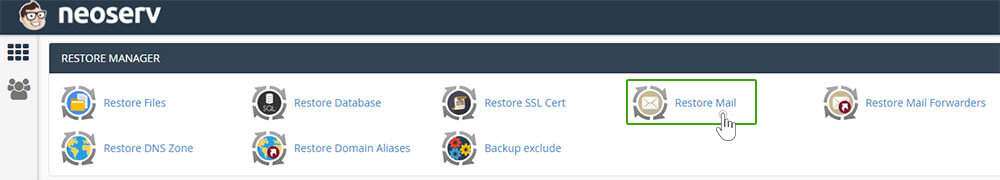 Izberite-cpanel-mail-restore-manager