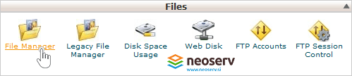 cPanel - File Manager